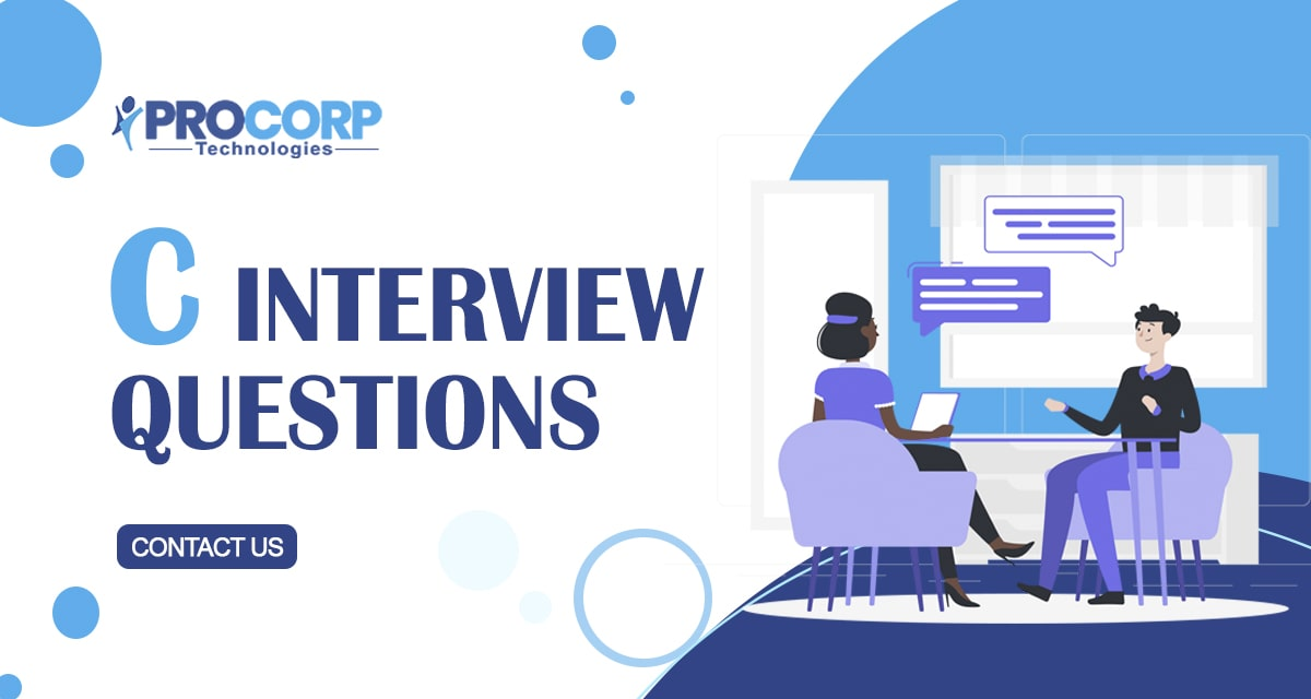 Top 100+ C Interview Questions | 2020