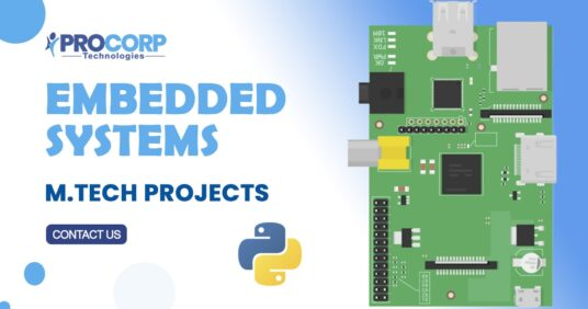 List of 2021 IEEE based MTech Embedded Systems Projects