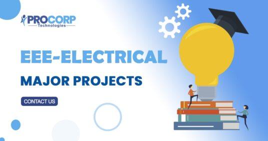 List of B.Tech EEE Major Projects | 2020